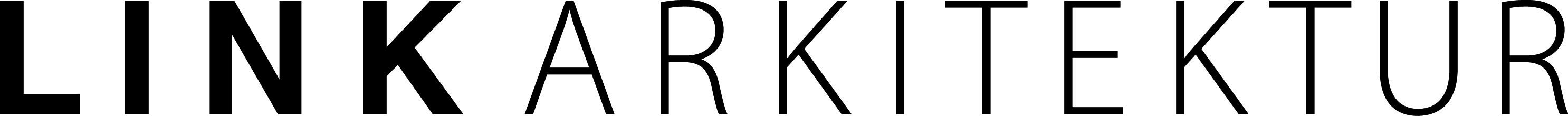 LINK arkitektur logo black
