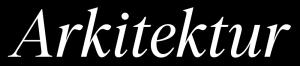 Arkitektur_Logo_Svartvit