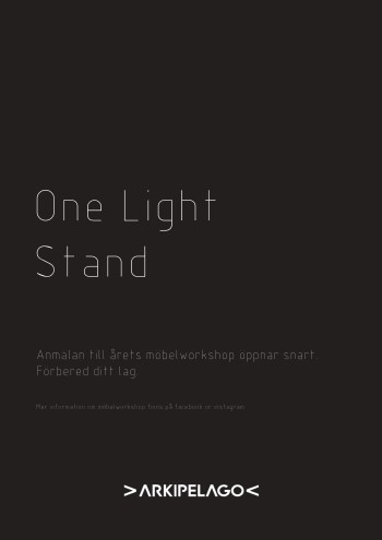 One Light Stand
